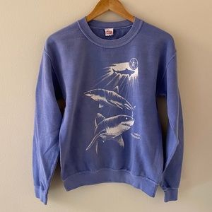 Obey Never Sleep Shark Crewneck